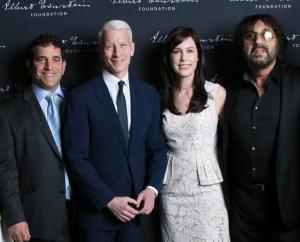 Steve Gardner, Anderson Cooper, Tori Avey, Shuki Levy
